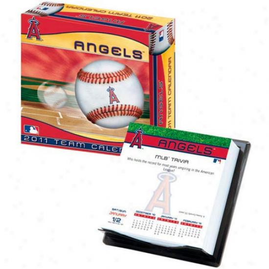 Los AngelesA ngels Of Anaheim 2011 Boxed Calendar