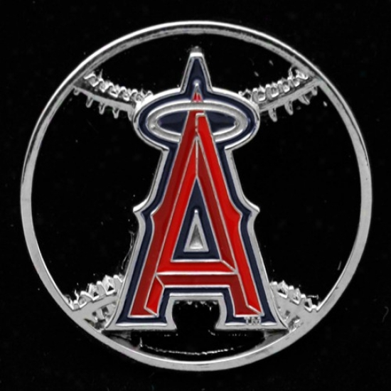 Los Angeles Angels Of Anaheim Hats : Los Angeles Angels Of Anaheim Team Logo Cut-out Baseball Pin