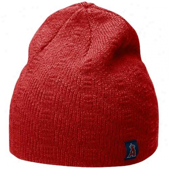 Los Angeles Angels Of Anaheim Hats : Nike Los Angeles Angels Of Anaheim Ladies Red Knit Beanie