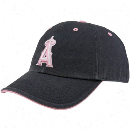 Los Angeles Angels Of Anaheim Merchandise: Twins '47 Los Angeles Angels Of Anaheim Ladies Navy Blue Opning Act Adjustable Slouch Cardinal's office