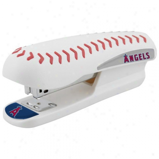 Los Angeles Angels Of Anaheim Pro-grip Baseball Stapler