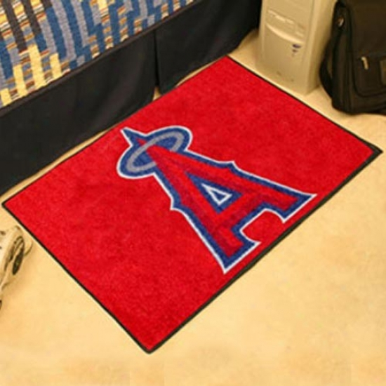 Los Angeles Angels Of Anaheim Red Logo Starter Mat