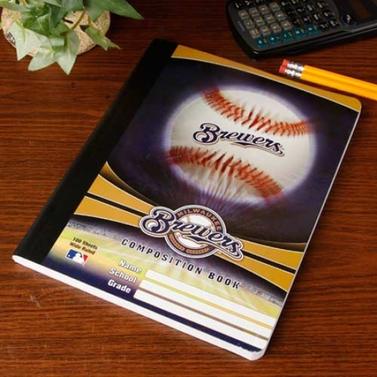Milwaukee Brewers Composition Notebook