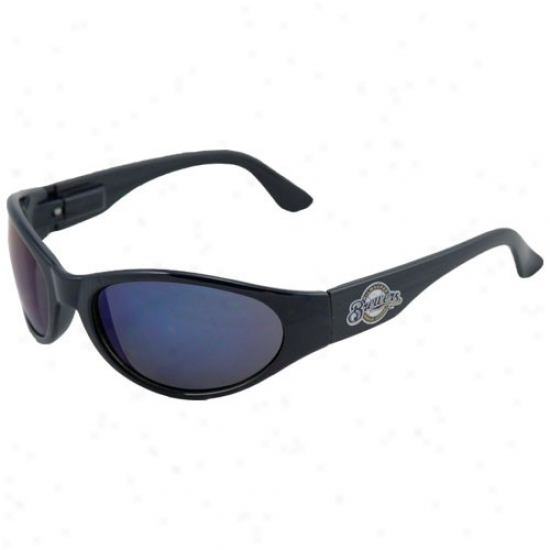 Milwaukee Brewers Ships of war Blue Sunglasses