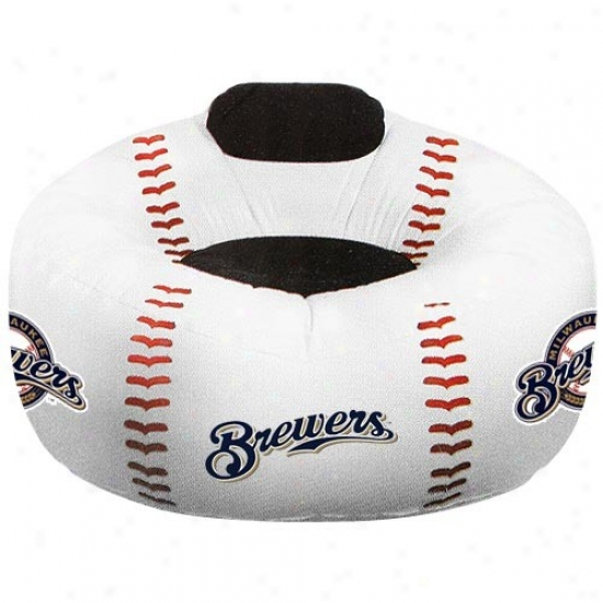 Milwaukee Brewers Oversized Inflatable Baseball Chair