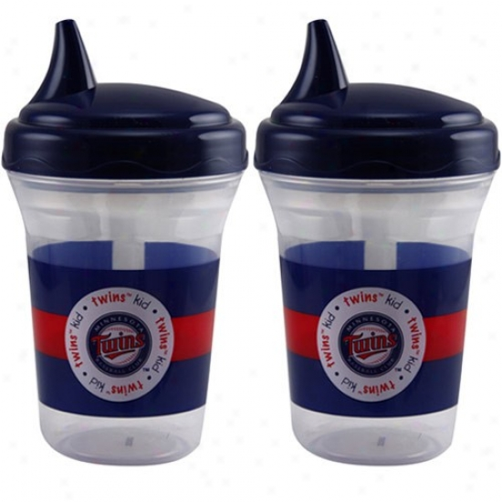 Minnesota Twins 2-pack Sippy Cups