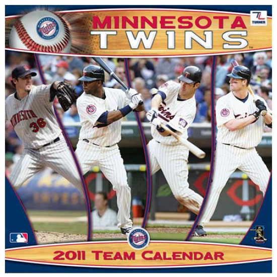 Minnesota Twins 2011 Wall Calendar