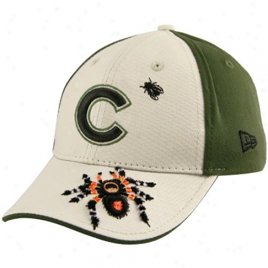 New Era Chicago Cubs Preschool Stone-green Arachnid Adjustable Hat