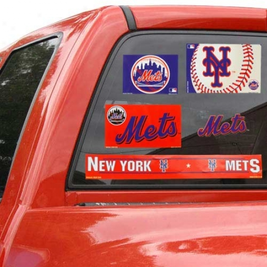 New York Mets 11'' X 17'' Ultra Decals