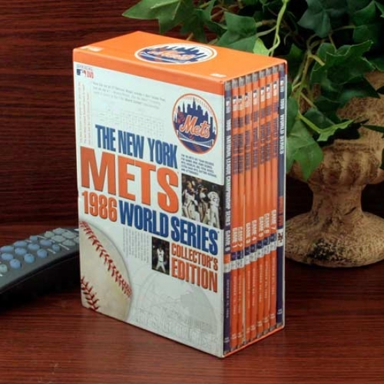 New York Mets 1986 World Series Collector's Edition 9-disc Dvd Set