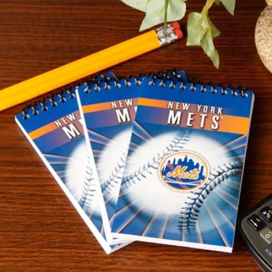 New York Mets 3-pack Team Memo Pads