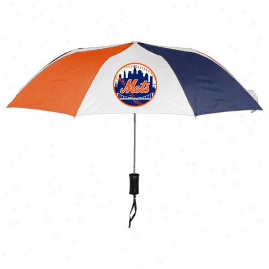 New York Mets 42'' Folding Umbrella