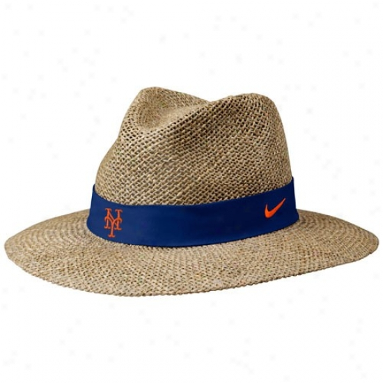 New York Mets Caps : Nike New York Mets Summer Straw Caps
