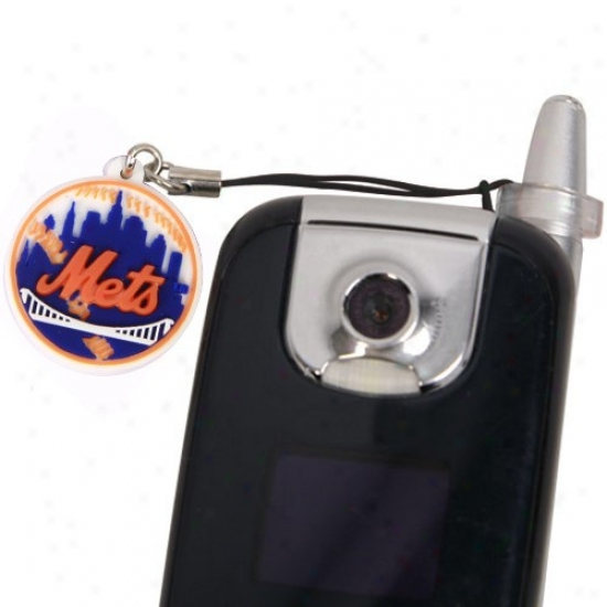 New York Mets Hanging Solitary abode; squalid Phone Antenna Charm