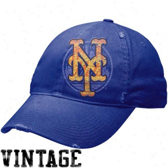 New York Mets Hat : Nike Recent York Mets Royal Blue Stacked Up Heritage 86 Unisex Adjustable Cardinal's office