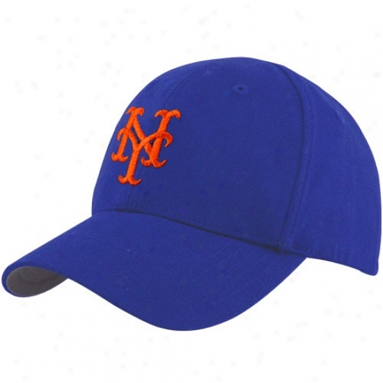 Novel York Mets Hat : Twins '47 New York Mets Infant Royal Blue Basic Logo Adjustable Hat