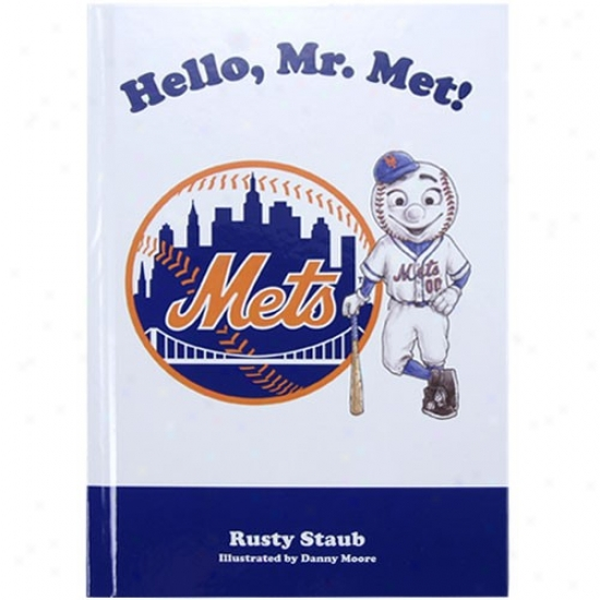 New York Mets Hello, Mr. Met! Children's Book