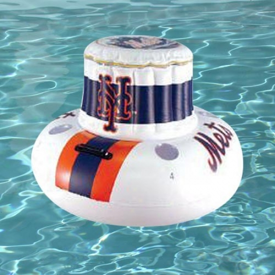 New York Mets Inflatable Floating Cooler