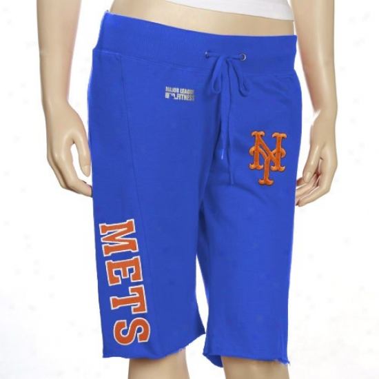 New York Mets Ladies Royal Blue Spectator Shorts