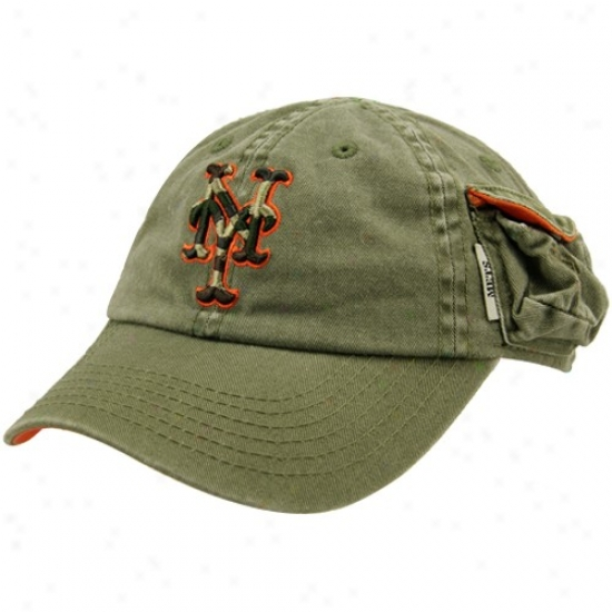 New York Mets Merchandise: New Era New York Mets Green Toddler Secret Weapon Hat