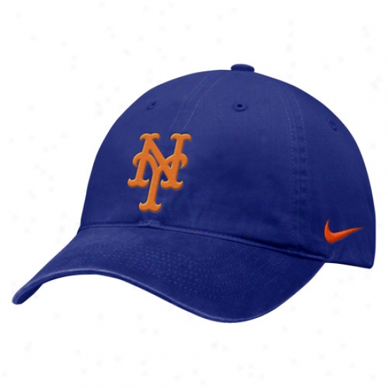 New York Mets Merchandise: Nike New York Mets Royal Blue Capmus Hat