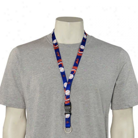 New York Mets Mlb Team Lofo Lanyard