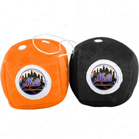 New York Mets Plush Team Fuzzy Dice