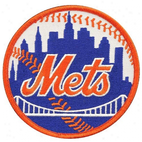 New York Mets Primary Logo Embroiddered Collector Patch