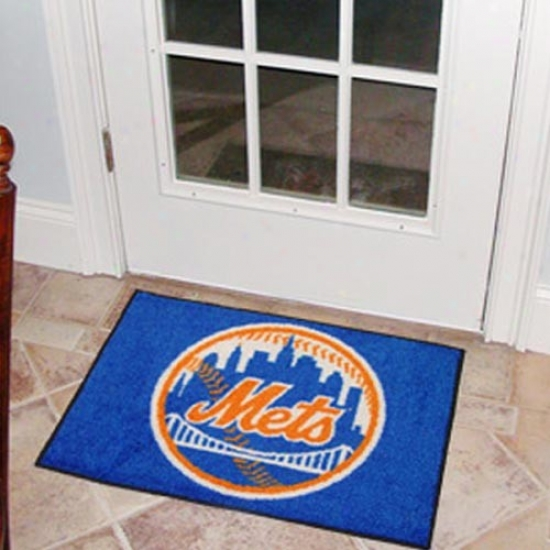 New York Mets Royal Blue Logo Staarter Mat