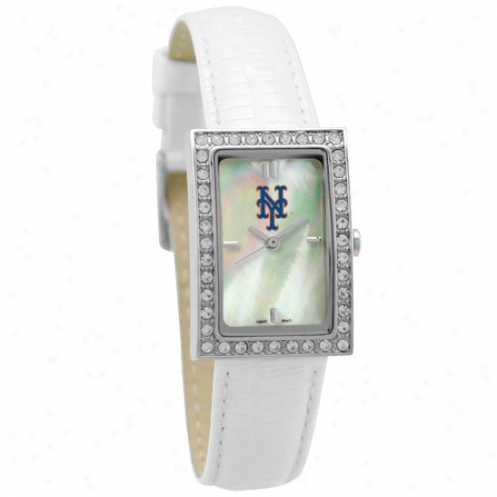 New York Mets Watches : New York Mefs Ladies Entice Watches