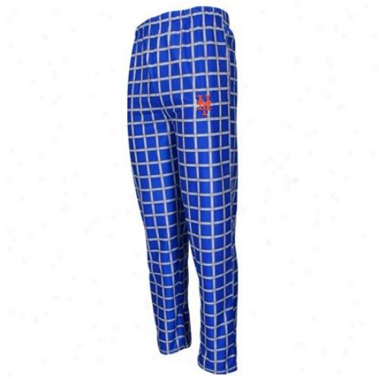 New York Mets Youth Royal Blue Tailgate Pajama Pants