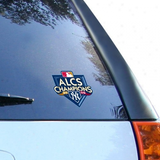 New York Yankees 2009 Alcs Champions Ultra Decal Cling