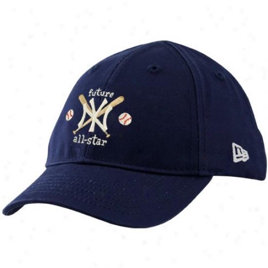 New York Yankees Caps : New Era New York Yankees Infant Navy Blue Future All-star Caps
