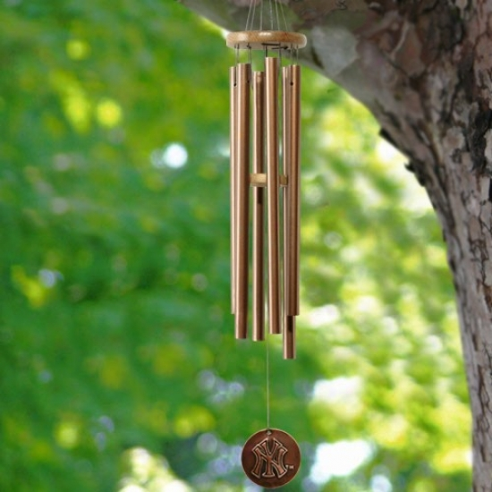 New York Yankees Copper Wind Chime