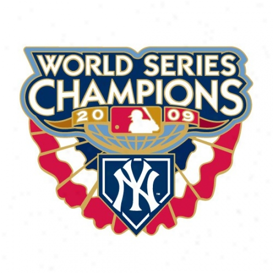 New York Yankees Gear: New York Yankees 2009 World Series Champions Pin