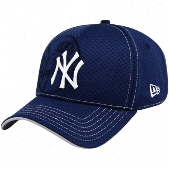 New York Yankees Hats : New Era New York Yankees Navy Blue Our Name Acl 39thirty Flex Fit Hats