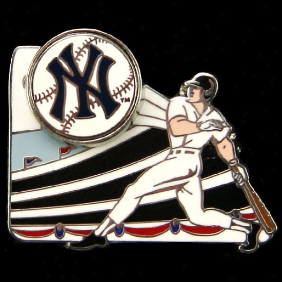 New York Yankees Hats : New York Yankees Home Run Pin