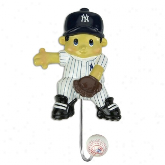 New York Yankees Mascot Wall Hook