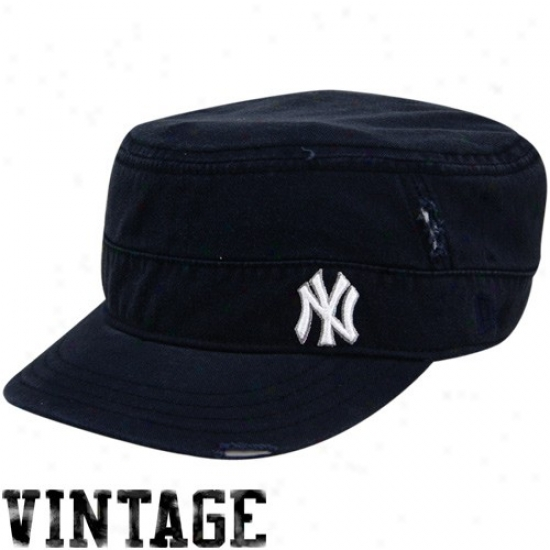 3ebf193156c New York Yankees Merchandise  New Era New York Yankees Ladies Navy Blue  Distressed Military Style