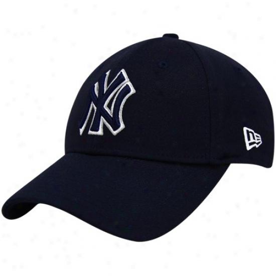 New York Yankees Merchandise: New Era New York Yankees Navy Blue Team Tonal 39thirty Fitted Hat
