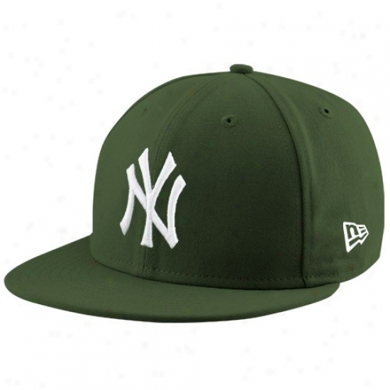 Ndw York Yankees Merchandise: New Epoch New York Yankees Green League 59fifty Fitted Cardinal's office