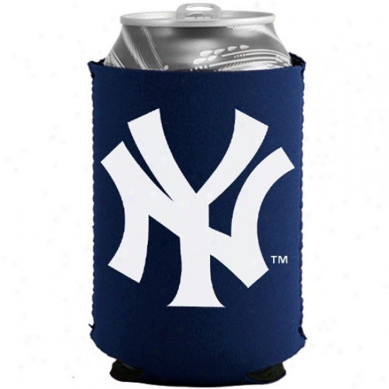 New York Yankees Navy Blue Collapsible Can Coolie