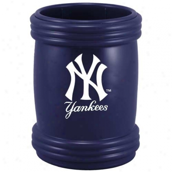 New York Yankeea Ships of war Blue Sports Magna-coolie Beverage Holder