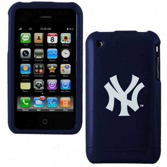 New York Yankees Navy Blue Team Logo Iphone Case