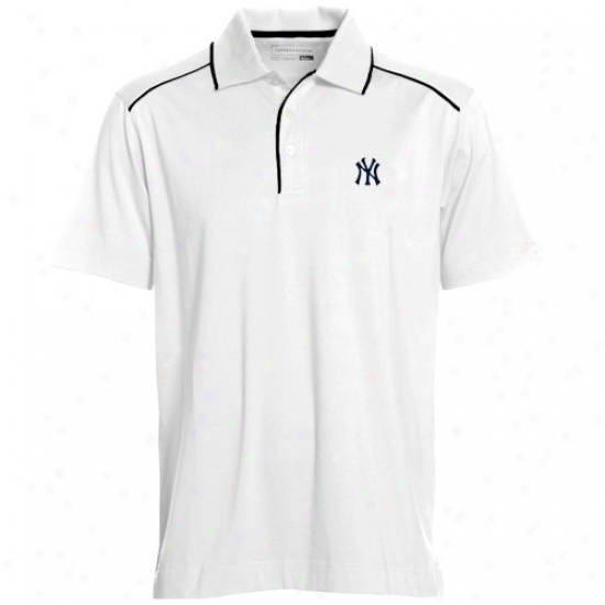 New York Yankees Polo : Cutter & Buck New York Yankees Happy Confederation Polo