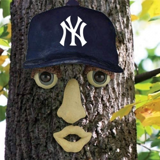 New York Yankees Resin Tree Face Decorate