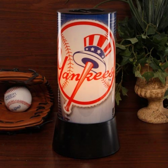 New York Yankees Rotatingg Lamp
