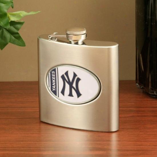 New York Yankees Stainless Steel Flask