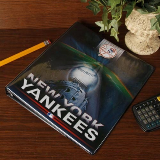 New York Yankees Team Logo 1'' 3-ring Binder