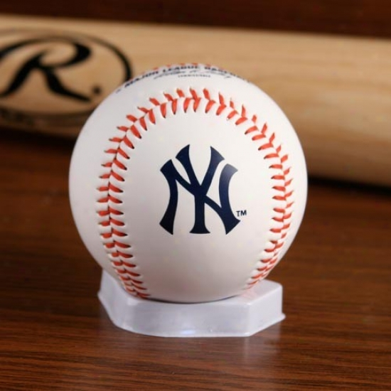 New Yo5k Yankees ''the Original'' Team Logo Collectible Baseball